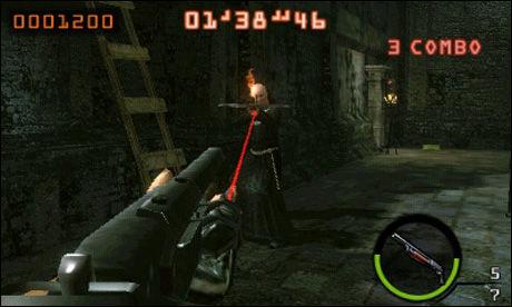 Skjermbilde fra «Resident Evil: The Mercenaries 3D». Foto: CAPCOM