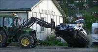 Traktor-Harald (66) hylles av ordføreren etter tyvefangsten