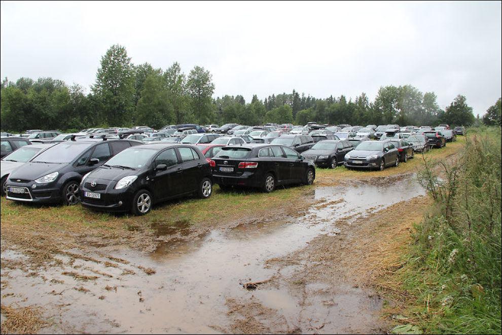 parkering på gardermoen