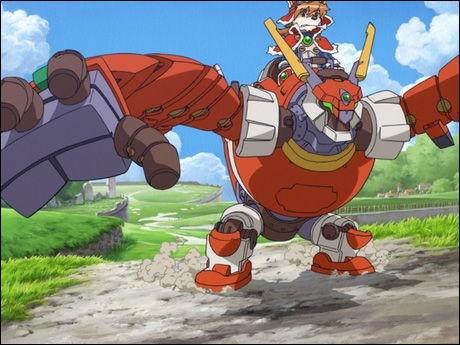 PICTURE PERFECT: Det er på det visuelle planet Solatorobo fanger spilleren. Foto: CYBERCONNECT2