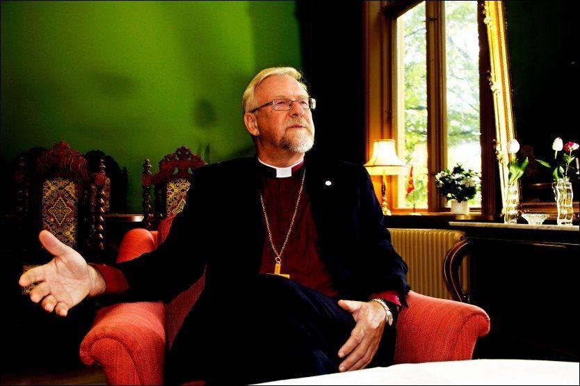 BER FOLK SNAKKE SAMMEN: Oslo-biskop Ole Christian Kvarme. Foto: LINE MØLLER / VG
