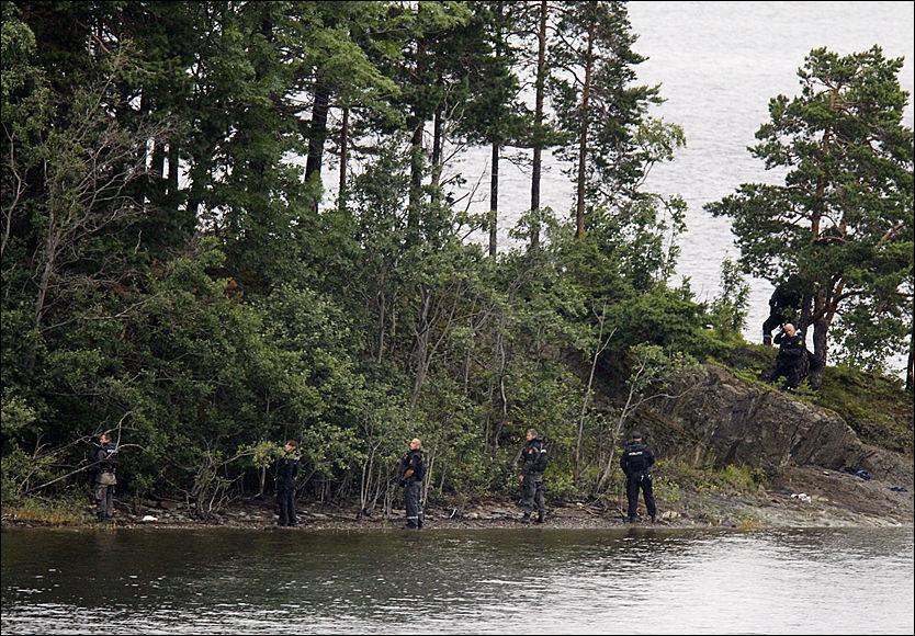 Politiet: Minst 84 drept på Utøya - Terrorangrepet 22 ...