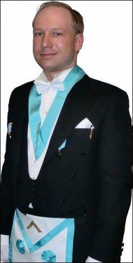 MINIMAL KONTAKT: Frimurerlosjen opplyser at de har hatt minimal kontakt med Anders Behring Breivik. Foto: Privat