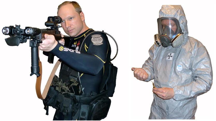 SKREV MANIFEST: Anders Behring Breivik skrev et stort manifest før han begikk de grusomme forbrytelsene han nå er siktet for. Foto: FAKSIMILE FRA MANIFESTET