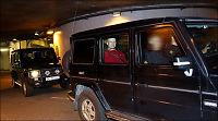 Her forlater Anders Behring Breivik tinghuset