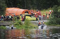 Politiets båt fikk motorstopp på vei til Utøya