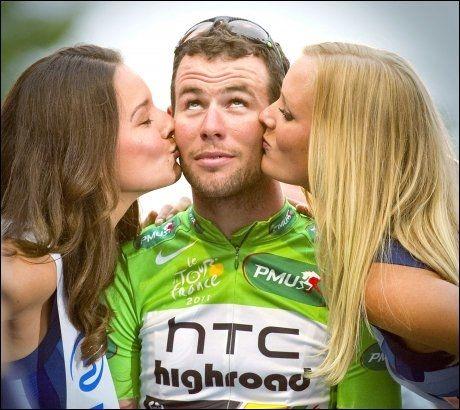 FORSVINNER: Mark Cavendish må finne seg et nytt sykkellag når HTC Highroad legges ned etter sesongen.