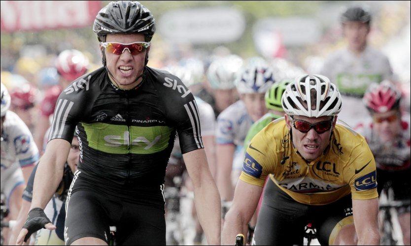 STILLER IKKE I PRØVE-OL: Edvald Boasson Hagen og Thor Hushovd stiller ikke til start i prøve-OL i London kommende helg. Foto: Stian Lysberg Solum, Scanpix