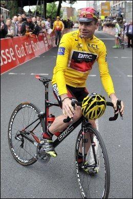 LAGKAMERAT: Årets vinner av Tour de France, Cadel Evans, skal sykle sammen med Hushovd neste sesong. Foto: AFP