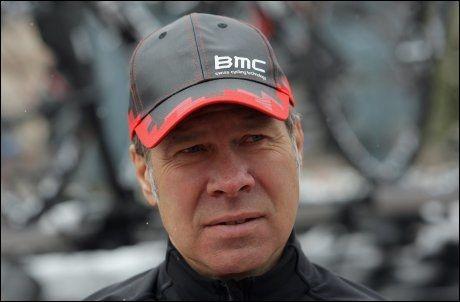 GLAD: BMC-manager Jim Ochowicz tror Thor Hushovd vil gjøre det godt i hans lag. Foto: AFP