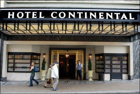 BOR FLOTT: Anna Anka bor på en egen suite på Hotel Continental under «Skal vi danse»-innspillingen. Foto: Espen Braata/VG