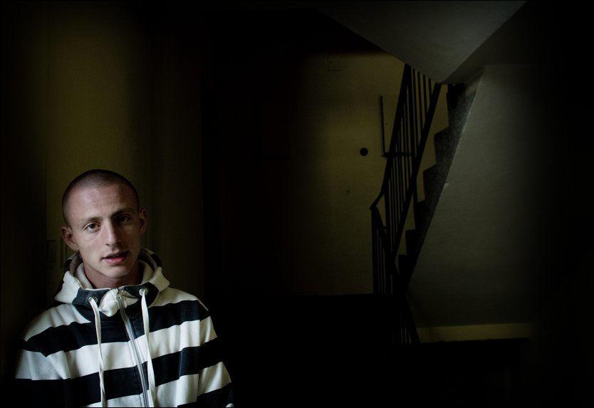 DOBBELT MARERITT: Anzor Djoukaev kom til Norge fra Grozny i Tsjetsjenia sammen med familien i 2001 og ble norsk statsborger i 2008. For 17-åringen ble 22. juli et mareritt som aldri tok slutt. Foto: Mattis Sandblad