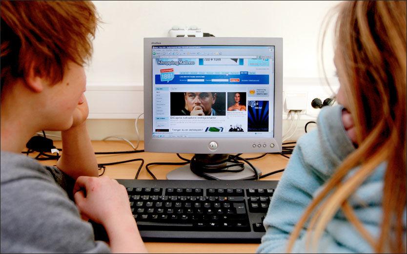 NY UNDERSØKELSE: Intenett gjør barn mer, ikke mindre, sosialt aktive heter det i tysk forskningsrapport. Foto: Roger Neumann
