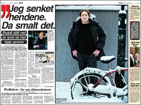 Faksimile: VG 7. januar, 2011.