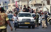 Opprørere: NATO vil angripe Gaddafis residens
