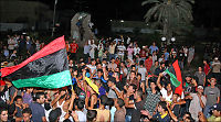 Jublende opprørere inntok Tripoli: - Det gikk overraskende lett