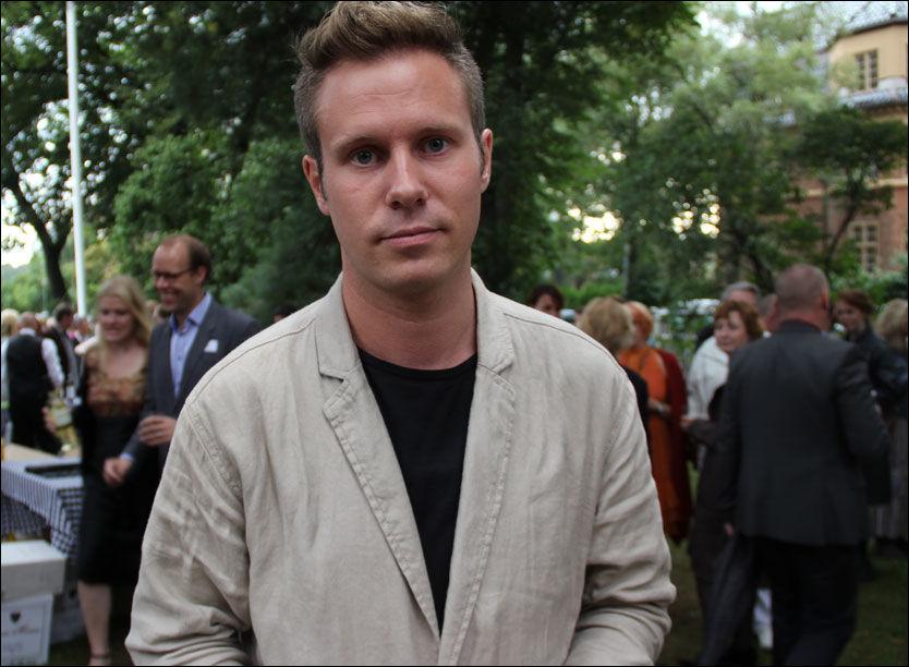 Eskil Pedersen på bokfest: - Viktig å ta hverdagen tilbake