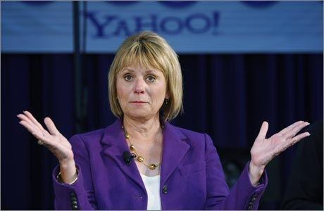 MÅTTE GÅ: Nå eks-Yahoosjef Carol Bartz har fått sparken. Foto: Ap