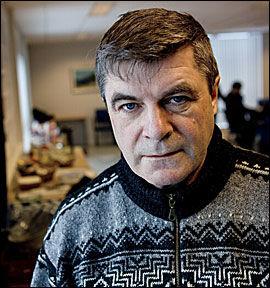 BEKYMRET: Ordfører Alf E. Jacobsen i Hammerfest. Foto: Arkiv