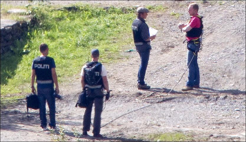 Breivik påviste våpendepot