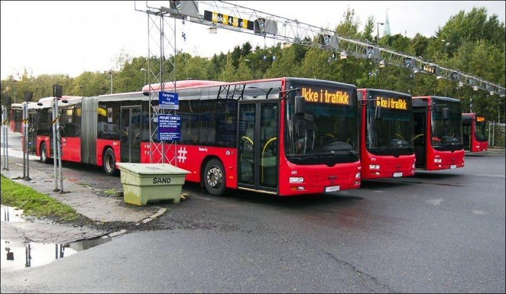 Buss nesbyen oslo