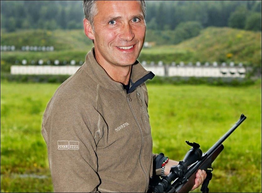 IVRIG JEGER: Jens Stoltenberg, her avbildet ved en tidligere anleding. Foto: NILS BJÅLAND