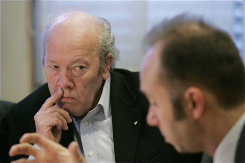 SER FREM TIL RETTSAK: Generalsekretær Nils E. Øy i Norsk Redaktørforening. Foto: SCANPIX