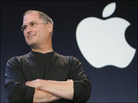 DØDE ONSDAG: Steve Jobs startet Apple sammen med Steve Wozniak i familiens garasje i 1976. Onsdag tapte han kampen mot kreften. Foto: Reuters