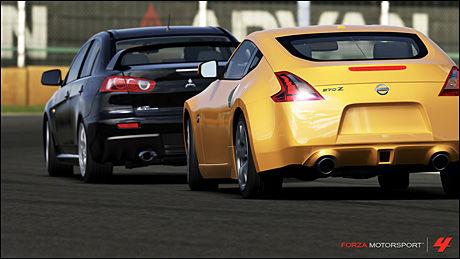 FORBEDRET GRAFIKK: «Forza Motorsport 4» minner om forgjengeren, men lyssettingen er dramatisk forbedret. Foto: TURN 10 STUDIOS/MICROSOFT
