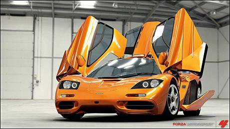STOR GARASJE: I «Forza Motorsport 4» kan du velge mellom over 500 biler fra drøye 80 ulike fabrikanter. Foto: TURN 10 STUDIOS/MICROSOFT