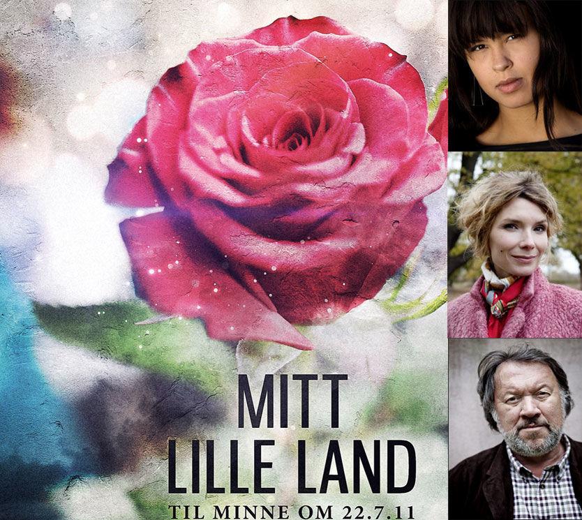 SAMLEPLATE: På platen «Mitt Lille Land» deltar flere kjente norske artister, blant annet Maria Mena, Herborg Kråkevik og Bjørn Eidsvåg. FOTO: Sony Music/VG