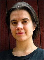 KRONIKK: Artikkelforfatter Siri Martinsen i NOAH. Foto: Privat