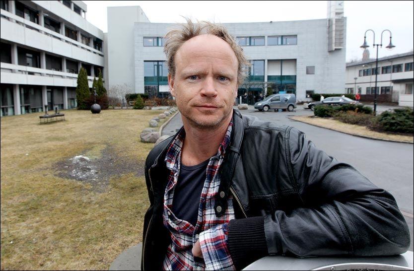 REAGERER: Harald Eia slår tilbake etter å ha blitt sammenliknet med terroristen Anders Behring Breivik i en anmeldelse i Klassekampen. Foto: Roger Neumann/VG