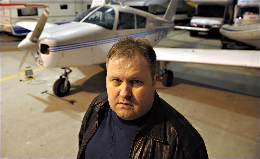 FLYR IGJEN: I fjor fikk Gunnar Utnes tilbake flysertifikatet, som ble inndratt da han ble syk. Konkurranseskytteren har også fått tilbake våpentillatelsen. Foto: Terje Mortensen/VG
