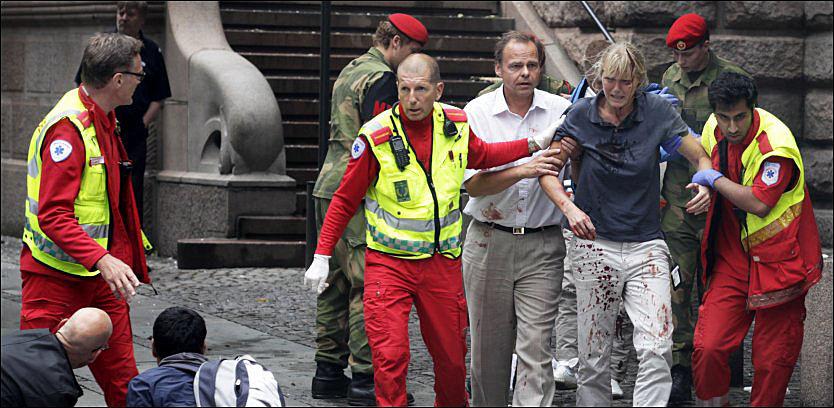 MARERITT: Én av ti i en fersk undersøkelse sier terroangrepet 22. juli har gitt dem søvnvansker i etterkant. Foto: NILS BJÅLAND