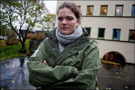 VAR OM BORD: Jannike Arnesen var en av ni som var om bord i Utøya-fergen, da den kjørte fra øya etter at skytingen startet 22. juli. Foto: PETTER EMIL VIKØREN
