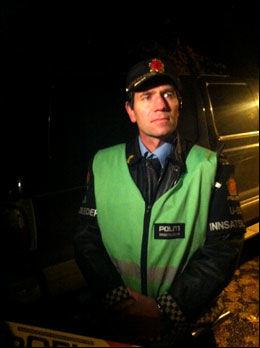 INNSATSLEDER: Kjell Kverme i Oslo-politiet. Foto: LARS JOAKIM SKARVØY