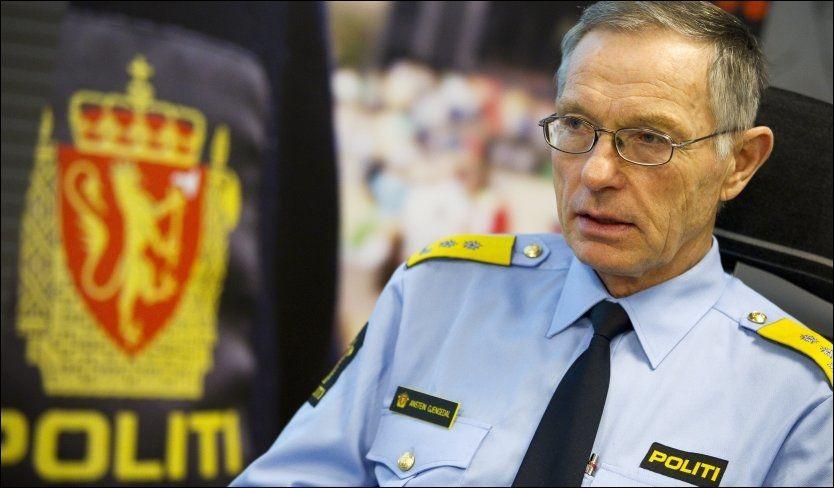 FRYKTELIG: Politimester Anstein Gjengedal sier overfallsvoldtektene i Oslo går inn på ham som politimester, og arbeidet mot kriminaliteten i byen skal intensiveres. Foto: Jan Petter Lynau