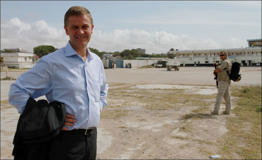 KORRUPSJON: Utviklingsminister Erik Solheim har bedt korrupsjonsjegerne i UD om å avdekke mislighold av norske bistandsmidler. Foto: UD