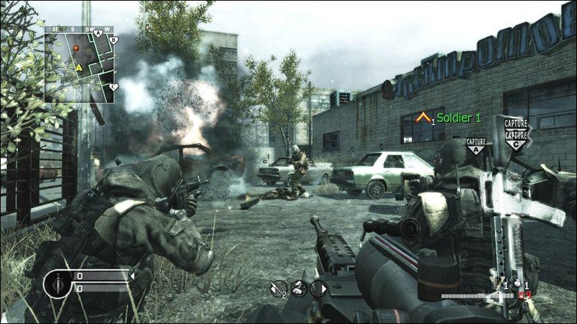 MASSIVT: Denne uken lanseres «Call of Duty: Modern Warfare 3». Serien har blitt en massiv årlig begivenhet - også for spillere under den anbefalte aldersgrensen på 18 år. Foto: ACTIVISION