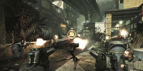 SAMARBEID: Flerspillerdelen i skytespill som «Call of Duty: Modern Warfare 3» er det spillere er mest opptatt av. Her handler det først og fremst om samarbeid og konkurranse - selv om voldsskildringene er kraftig kost. Foto: ACTIVISION