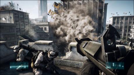 GODT MOTTATT: «Battlefield 3», som kom ut tidligere i høst, har fått god mottakelse og er en stor «Call of Duty»-konkurrent. Her er voldsskildringene mildere, spillet har 16 års aldersgrense. Foto: DICE/ELECTRONIC ARTS