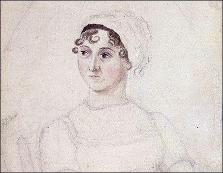 MYTEOMSPUNNET: Denne Jane Austen-tegningen er fra 1810 - syv år før forfatteren døde. Foto: National Portrait Gallery