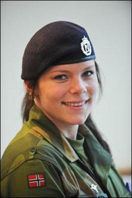 FORSTÅR REAKSJONEN TIL ALICE: Hege Therese Solberg, landstillitsvalgt for Luftforsvaret