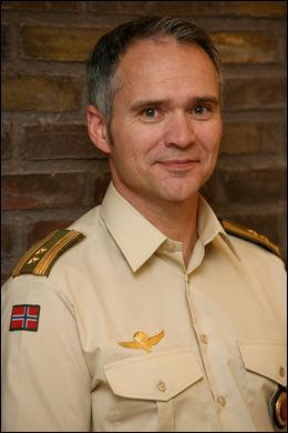 UAKSEPTABELT: Talsmann for Forsvarssjefen, Obersløytnant Bent-Ivan Myhre.
