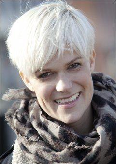 ERSTATTER: Nåværende vikar Sigrid Bonde Tusvik skal overta etter komikeren. Foto: LINN CATHRIN OLSEN