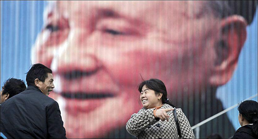 LEDER: Veksten i Kina kommer på tross av kommunistene og Deng Xiaoping, skriver kronikkforfatteren. Foto: Ap