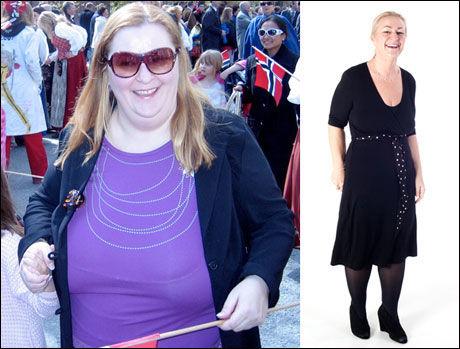 TYNGRE DAGER: - Jeg har ikke gått på noen kur, men funnet ut hvordan jeg både kan leve sunt, og trives med det i min hverdag, sier Heidi (førbilde til venstre), som har fått fullstendig treningsdilla. Foto: Janne Møller-Hansen