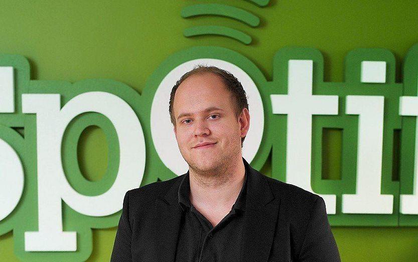 SPOTIFY-LANSERING: Ryktene florerer i forkant av lanseringen ledet av Spotify-sjef Daniel Ek i kveld. Foto: Spotify