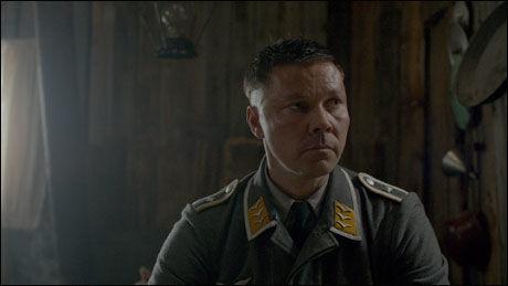 SPILLER TYSK SOLDAT: Stig Henrik Hoff i «Into the White». Foto: Scanbox